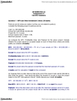 ADMS 3530 Lecture Notes - Capital Requirement, Tax Rate, Scenario Analysis