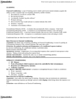 PSY346H5 Lecture Notes - Classical Conditioning, Dental Assistant, Operant Conditioning