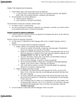 PSYC 3350 Chapter Notes - Chapter 5: Japanese Language, Critical Period, Proxemics