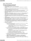 PSYC 3350 Lecture Notes - Social Comparison Theory