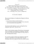 CMST 1A03 Lecture Notes - Urban Sprawl, Hot Desking, Everyman