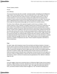 ENGL100A Lecture Notes - English Folklore, Main Plot, Hermia