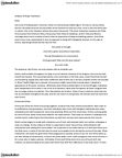 ENGL100A Lecture Notes - Malvolio, Puritans, Melodrama