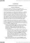 CLA260H1 Lecture Notes - Lecture 16: Henri Estienne, Akademos, August Immanuel Bekker