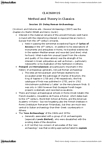 CLA260H1 Lecture Notes - Lecture 20: Inductive Reasoning, Colin Renfrew, Baron Renfrew Of Kaimsthorn, Radiocarbon Dating
