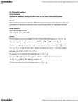 MAT136H1 Lecture Notes - Product Rule, Integrating Factor