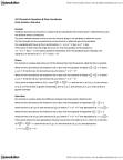 MAT136H1 Lecture Notes - Hyperbola, Ellipse, Polar Coordinate System