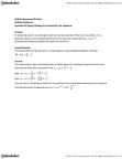 MAT136H1 Lecture Notes - Geometric Progression