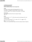 MAT136H1 Study Guide - Midterm Guide: Integral Test For Convergence, Improper Integral