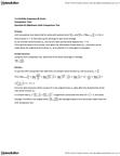 MAT136H1 Study Guide - Midterm Guide: Limit Comparison Test