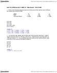 ADMS 3530 Study Guide - Weighted Arithmetic Mean, Capital Asset Pricing Model, Risk Premium