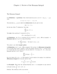 MATH118 Study Guide - Riemann Sum, Riemann Integral, Ligier