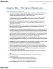 DRM411H1 Study Guide - Lumbar Vertebrae, Plumb Bob, Thoracic Vertebrae