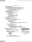 BIOL 2000 Lecture Notes - Hydrogen Bond, Ribosome, Protein Structure