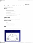 Kinesiology 2276F/G Lecture Notes - Social Cognitive Theory, Albert Bandura