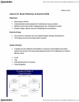 Kinesiology 2276F/G Lecture Notes - Lecture 12: Group Cohesiveness, Team Building