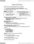 BIOLOGY 1A03 Lecture Notes - Cleavage Furrow, Sister Chromatids, Spindle Apparatus
