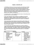 BIOLOGY 1A03 Lecture Notes - Intermediate Filament, Amoeboid Movement, Peroxisome