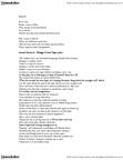 ENGL 100 Study Guide - Tape (Play), Tragic Hero, Samuel Beckett