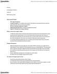 PSYC12H3 Lecture Notes - Lecture 6: Gay Bar, Shyness, Dementia