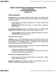 PSYC 2450 Chapter Notes - Chapter 1: Developmental Psychology, Measuring Instrument, Sigmund Freud