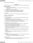 COMM 292 Chapter Notes - Chapter 14: Learning Organization
