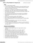 PHL271H1 Lecture Notes - Gustav Radbruch, Legal Positivism, Deontological Ethics