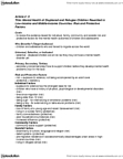 PSYC 3690 Chapter Notes -Nuclear Family, Systematic Review, Posttraumatic Stress Disorder