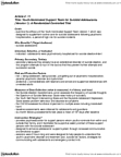 PSYC 3690 Chapter Notes -Randomized Controlled Trial, Suicidal Ideation, Mental Disorder