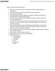 PSY333H1 Chapter Notes - Chapter 10: Reinforcement