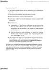 RELG 202 Lecture Notes - Israelites