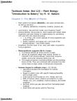 BIOL120 Chapter Notes -Cryptogam, Sphagnum, Marchantiophyta