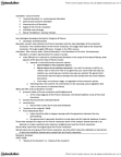 HIS109Y1 Lecture Notes - Economic Liberalism, Invisible Hand, Free Trade