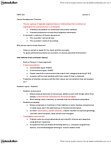 CNPS 363 Lecture Notes - Social Environment, Strong Interest Inventory, Family Values