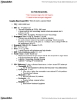 NURS 2090 Lecture Notes - Hematocrit, Clinical Urine Tests, Lipase