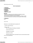 CHYS 1F90 Lecture Notes - Lecture 4: Neuroscience, Genital Stage, Turnitin