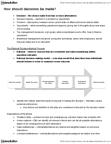 Ch 12 - Decision Making, Creativity & Ethics