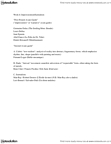 FILM 1701 Lecture Notes - Lecture 6: Germaine Dulac, Robert Desnos, Erik Satie