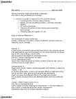 EN 1006 Lecture Notes - W. B. Yeats, Noh, Impressionism