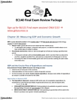 EC140 Study Guide - Final Guide: Environmental Quality, Chapter 27, Capital Accumulation