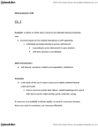 ECON 1110 Lecture Notes - Opportunity Cost, Capital Good, Economic System