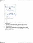 PSYB45H3 Lecture Notes - Etiology, Token Economy, Psychopathology