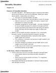 Psychology 2075 Study Guide - Human Sexuality, Main Source, Health Promotion