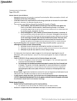 PSYCH 3CB3 Chapter Notes - Chapter 5: Psychiatric Assessment, Psychological Testing, Hypoglycemia
