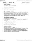 SA 150 Lecture Notes - The Sociological Imagination