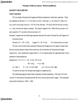 ECON 3K03 Lecture Notes - Price Floor, Economic Equilibrium, Ceteris Paribus