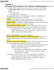FRHD 3150 Chapter Notes - Chapter 8: Equivalence Class, Stimulus Control, Vending Machine