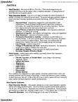 46-355 Chapter Notes -Major Depressive Episode, Mania, Major Depressive Disorder