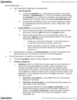 46-355 Lecture Notes - Brief Psychotic Disorder, Thought Disorder, Delusional Disorder