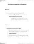CRIM 1116 Lecture Notes - Feudalism, Plans